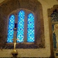 Stain Glass window Llanbadrig Church