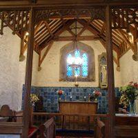 Altar area Llanbadrig Church