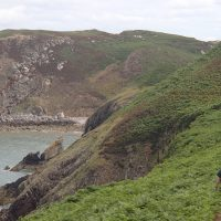 Anglesey Coastal Path near Llanliana