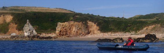 Kayaking White Lady Bay