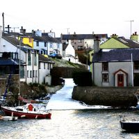 Small slipway in Cemaes Harbour