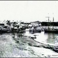 Cemaes Harbour When Thriving Port