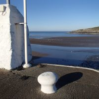 Cemaes Harbour Wall