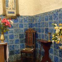 Moorish tiles Llanbadrig Church