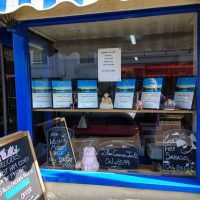 Cemaes Butchers Window